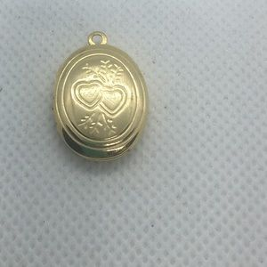 4 for $12: Gold Tone Locket Necklace pendant